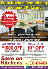 Save on Kitchens Current Special Offer